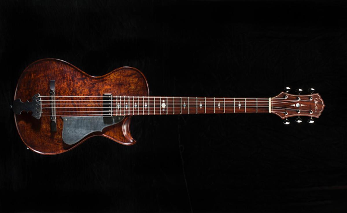 Scott Walker Guitars Unveils the Katana