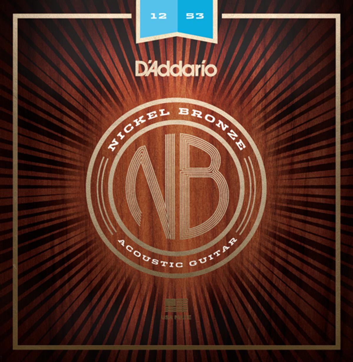D'Addario Announces Nickel Bronze Acoustic Guitar Strings