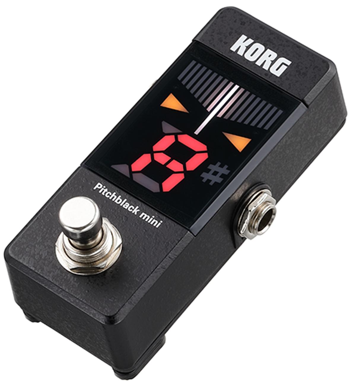 Korg Releases the Pitchblack Mini Tuner