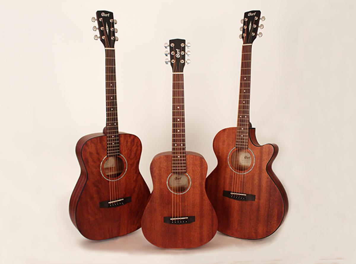 Cort Guitars Releases Mahogany Acoustic Models