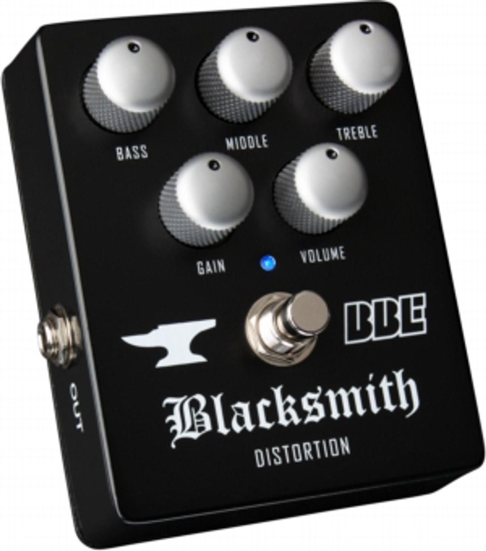 BBE Announces Blacksmith Distortion Pedal