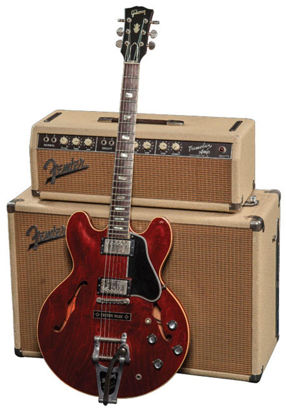 vintage vault 1963 gibson es 335 tdc premier guitar. Black Bedroom Furniture Sets. Home Design Ideas