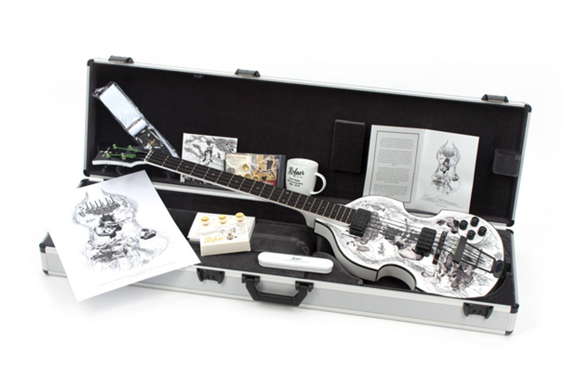 Hofner Releases the 60th Anniversary 500/1 Violin Bass