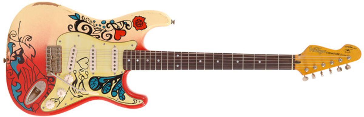 Thomas Blug and Vintage Guitars Unveil Vintage Summer of Love V6MRHDX Signature Guitar