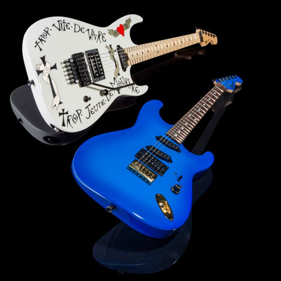 Charvel Unveils Signature Models With Warren Demartini And Jake E