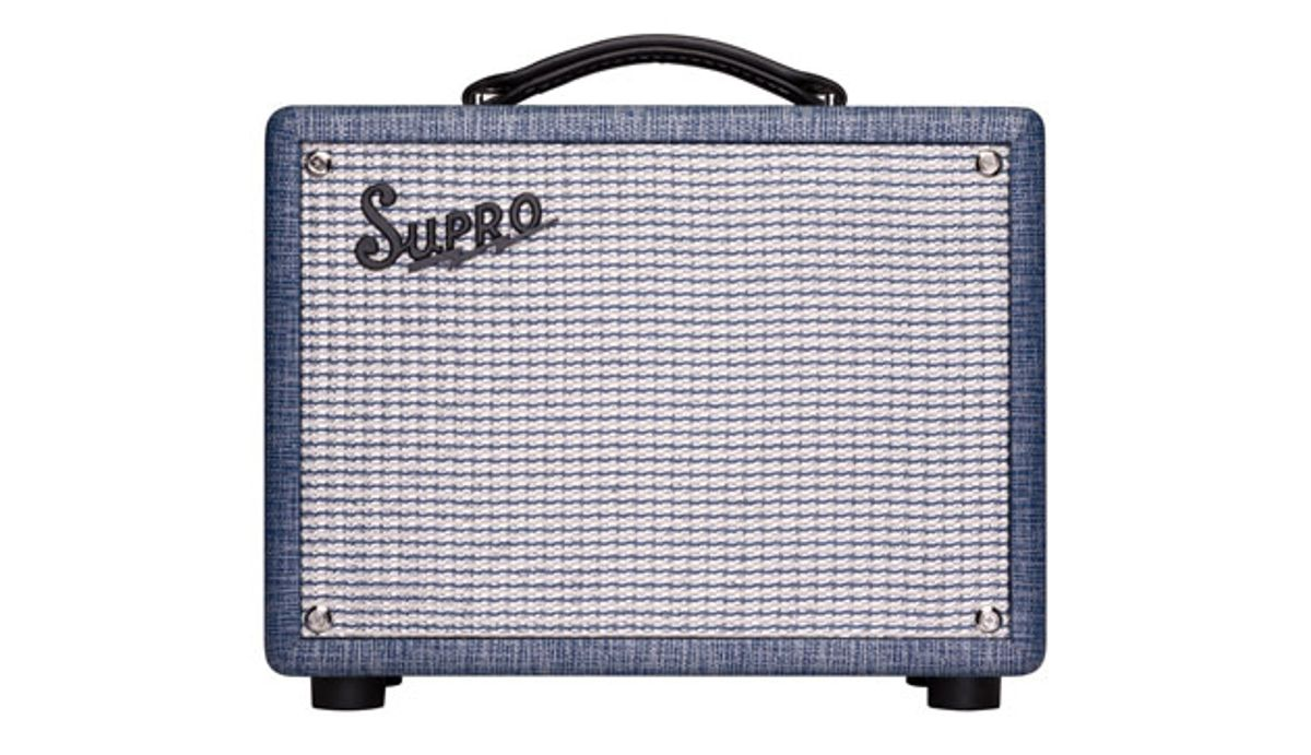 Supro Reissues the 1606 Super and 1605R Reverb Combos
