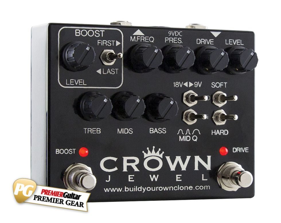Byoc Crown Jewel Review Premier Guitar Picture Of How To Make A Circuit Board Pick Follow
