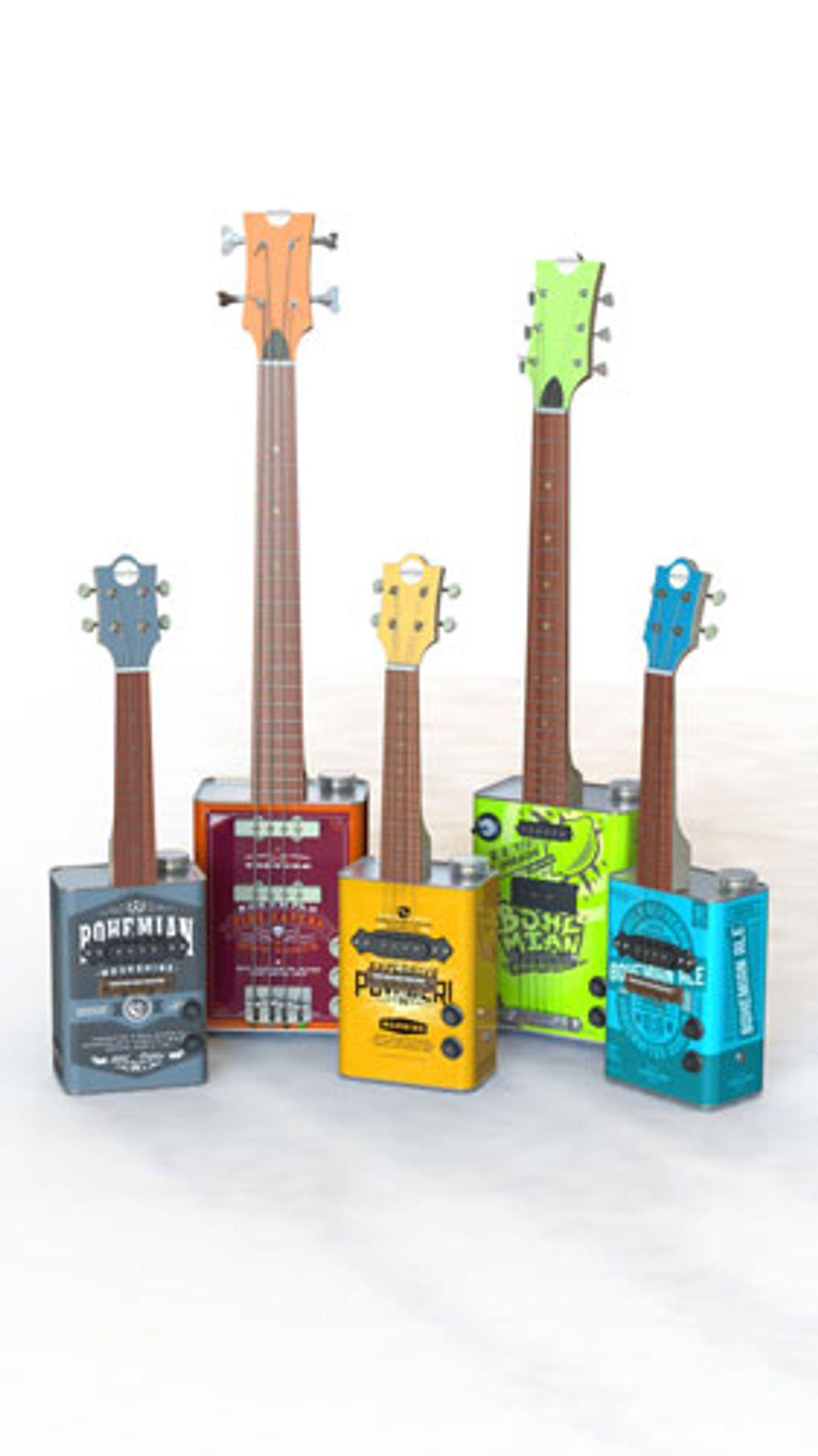 Bohemian Guitars Launches the Boho 2.0 Series