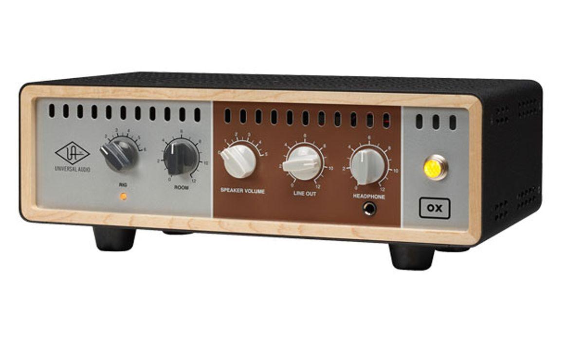 Universal Audio Unveils Ox the Amp Top Box