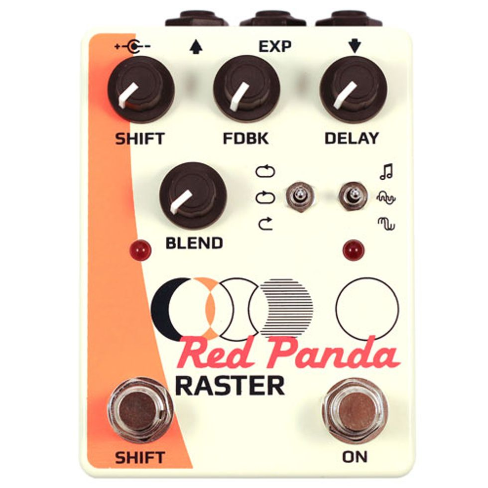 Red Panda Unveils the Raster Delay | 2015-04-28 | Premier Guitar