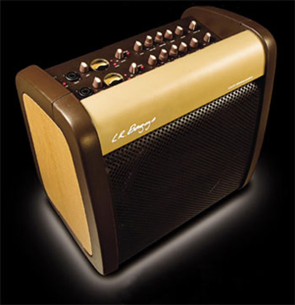 L.R. Baggs Core 1 Acoustic Reference Amplifier