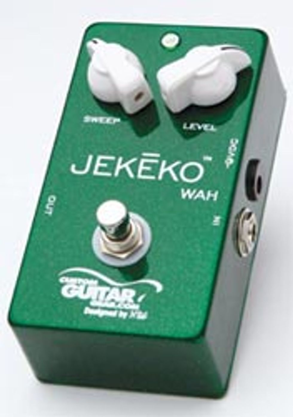 CustomGuitarGear: Jekeko Fixed Wah