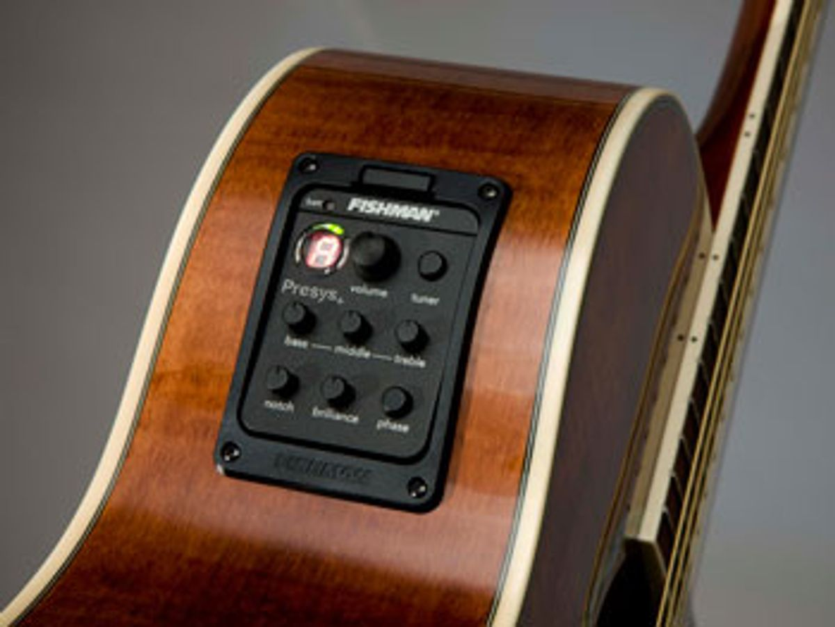 Fishman Debuts Presys+ Onboard Preamp System For Consumers