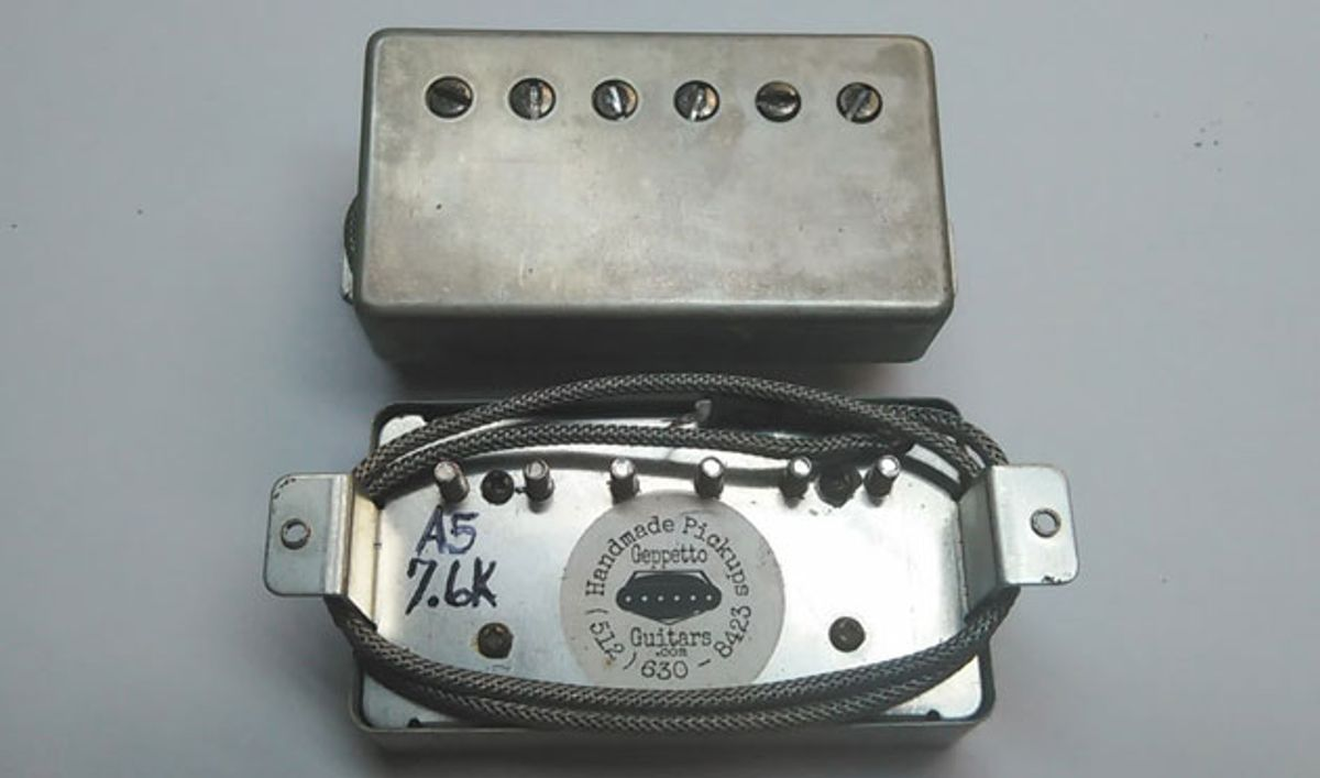 Geppetto Guitars Introduces the Camelot Humbucker