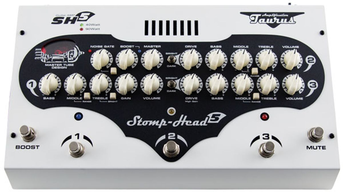 Quick Hit: Taurus Amplification Stomp-Head 5.CE Review