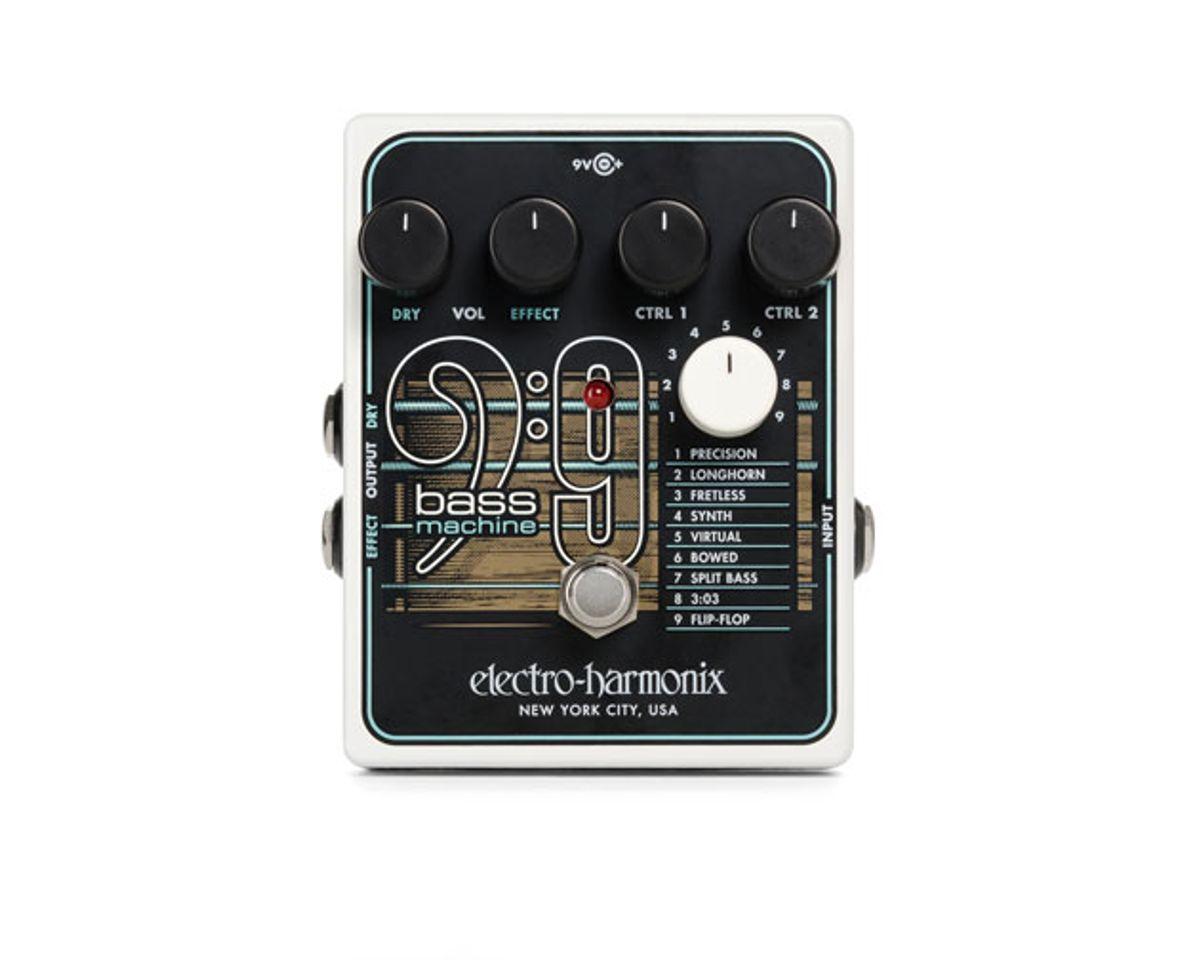 Electro-Harmonix Unveils the Bass9