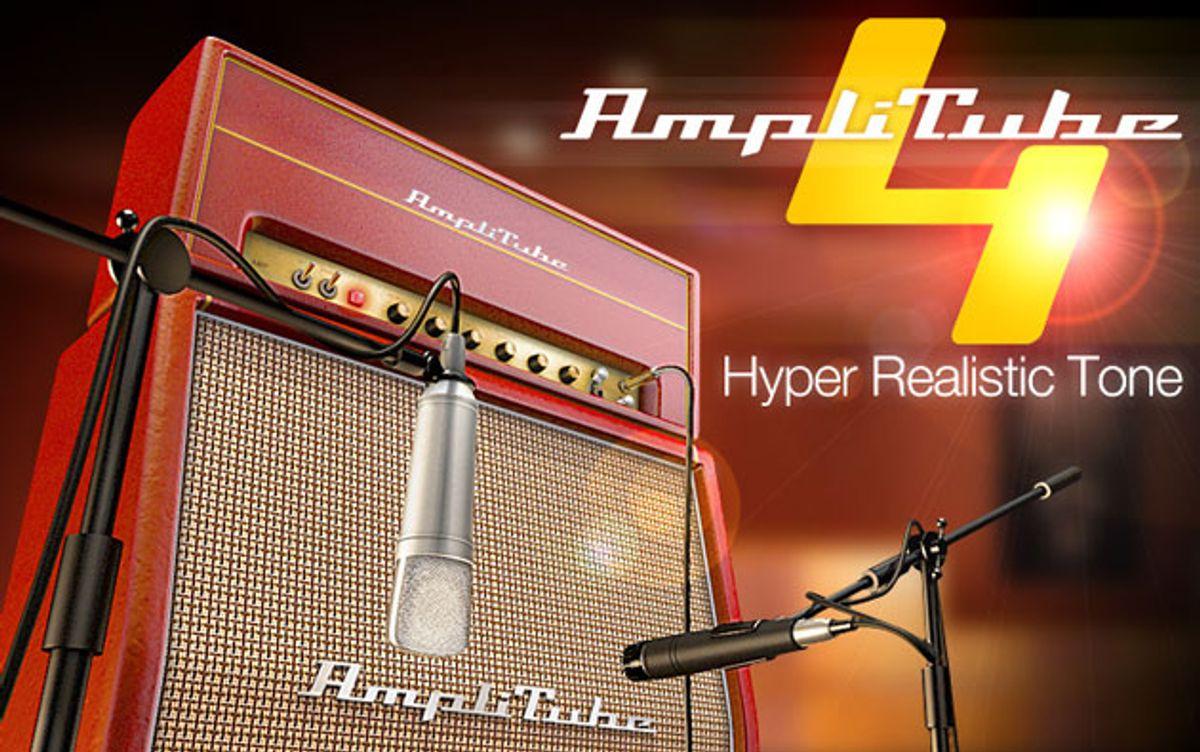 IK Multimedia Unveils AmpliTube 4