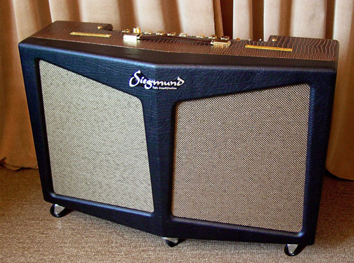Siegmund Amplifiers Releases the Doppler Stereo Guitar Amp