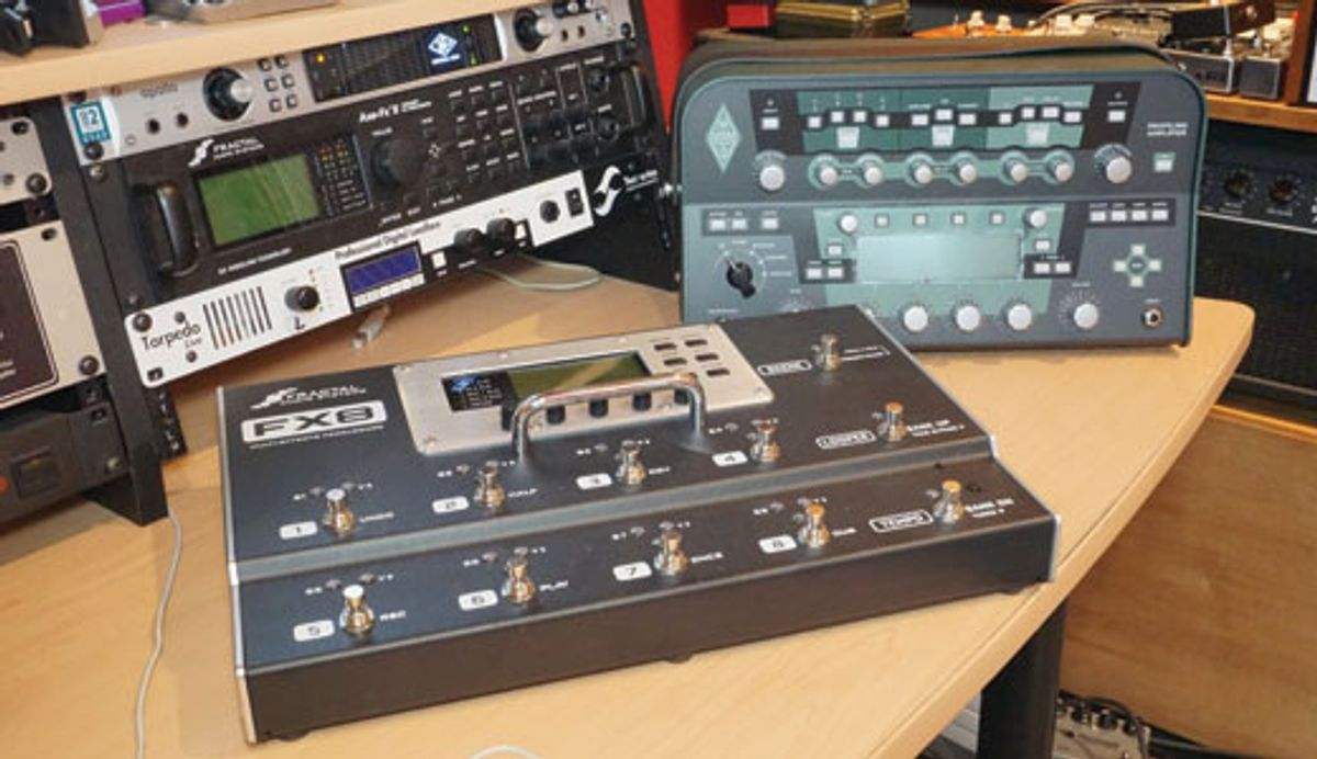 Tone Tips: Modelers vs. Traditional Rigs