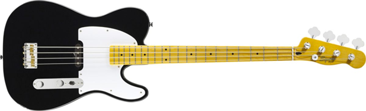 Squier by Fender Releases New Vintage Modified Series Telecaster Basses
