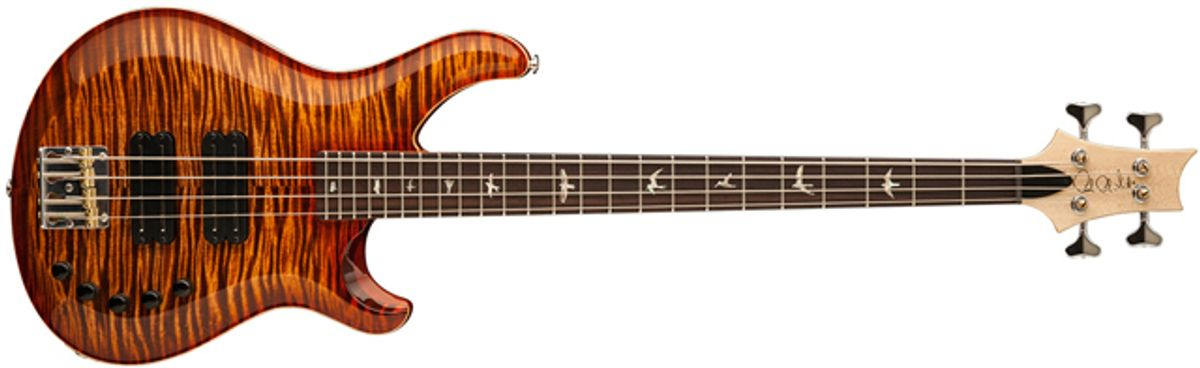 PRS Guitars Launches New Core Bass Line
