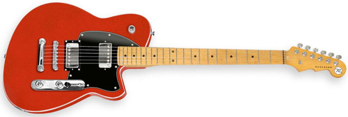 Reverend Guitars Announces the Return of the Charger Guitar