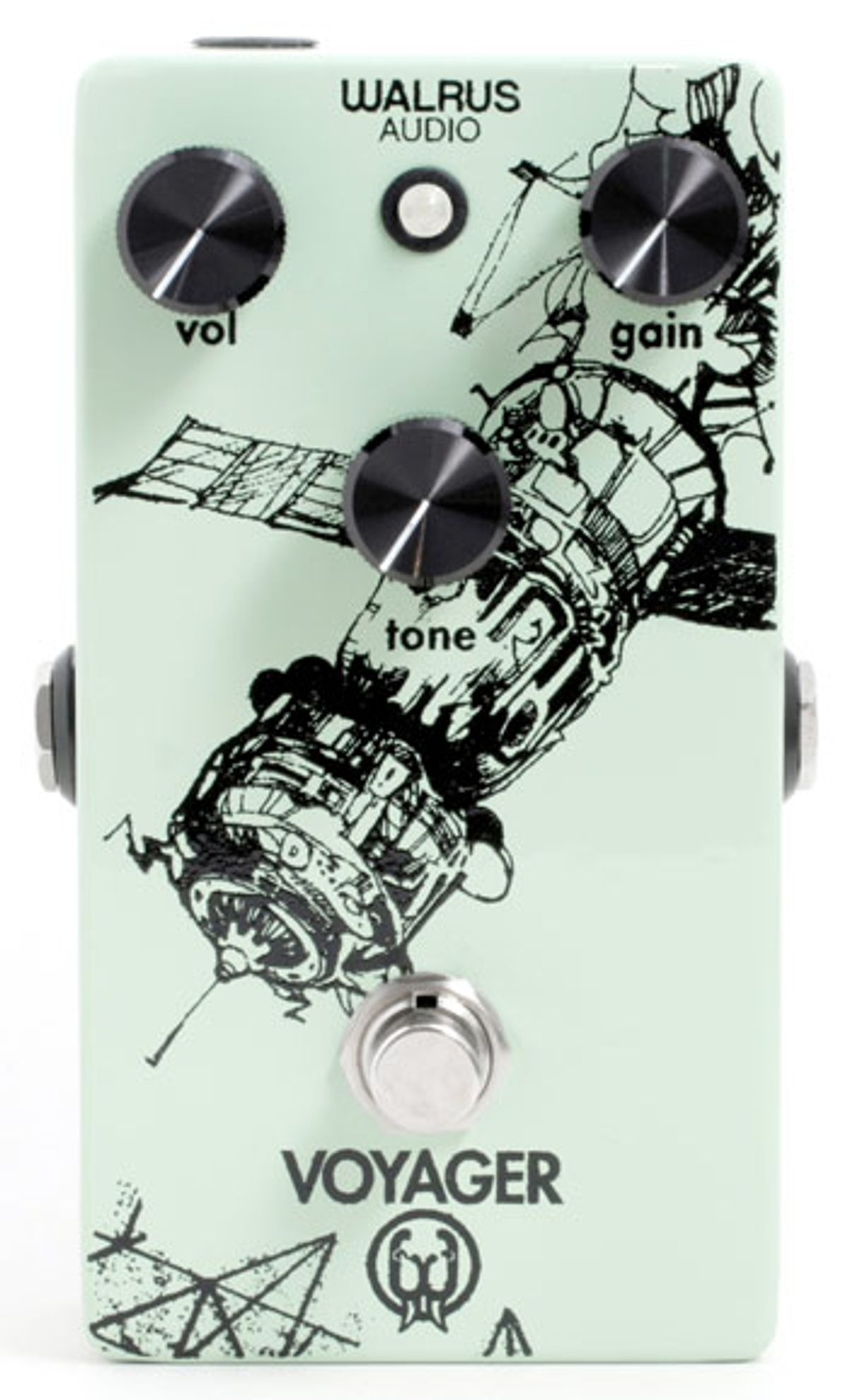 Walrus Audio Announces Voyager Preamp/Overdrive