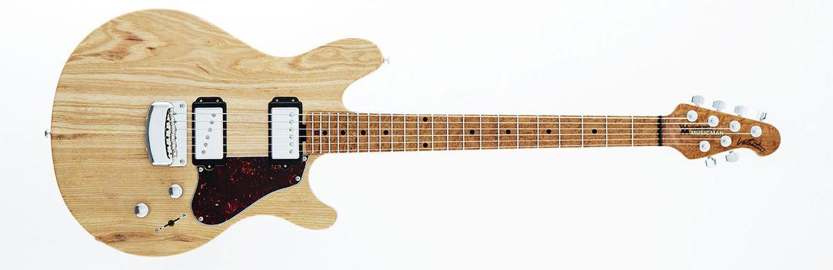Ernie Ball Music Man Introduces John Petrucci, St. Vincent, and James Valentine Artist Series Guitars