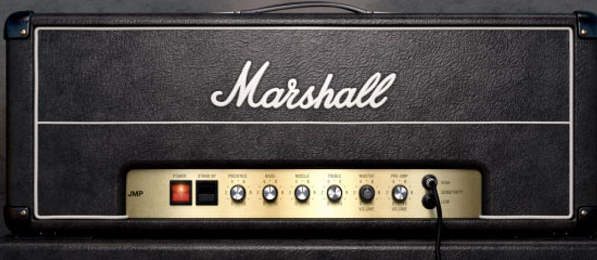Universal Audio Releases the Marshall JMP 2203 Plugin