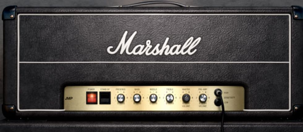 Universal Audio Releases the Marshall JMP 2203 Plugin | Premier Guitar