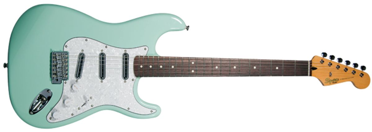 Squier Vintage Modified Surf Stratocaster Electric Guitar Review