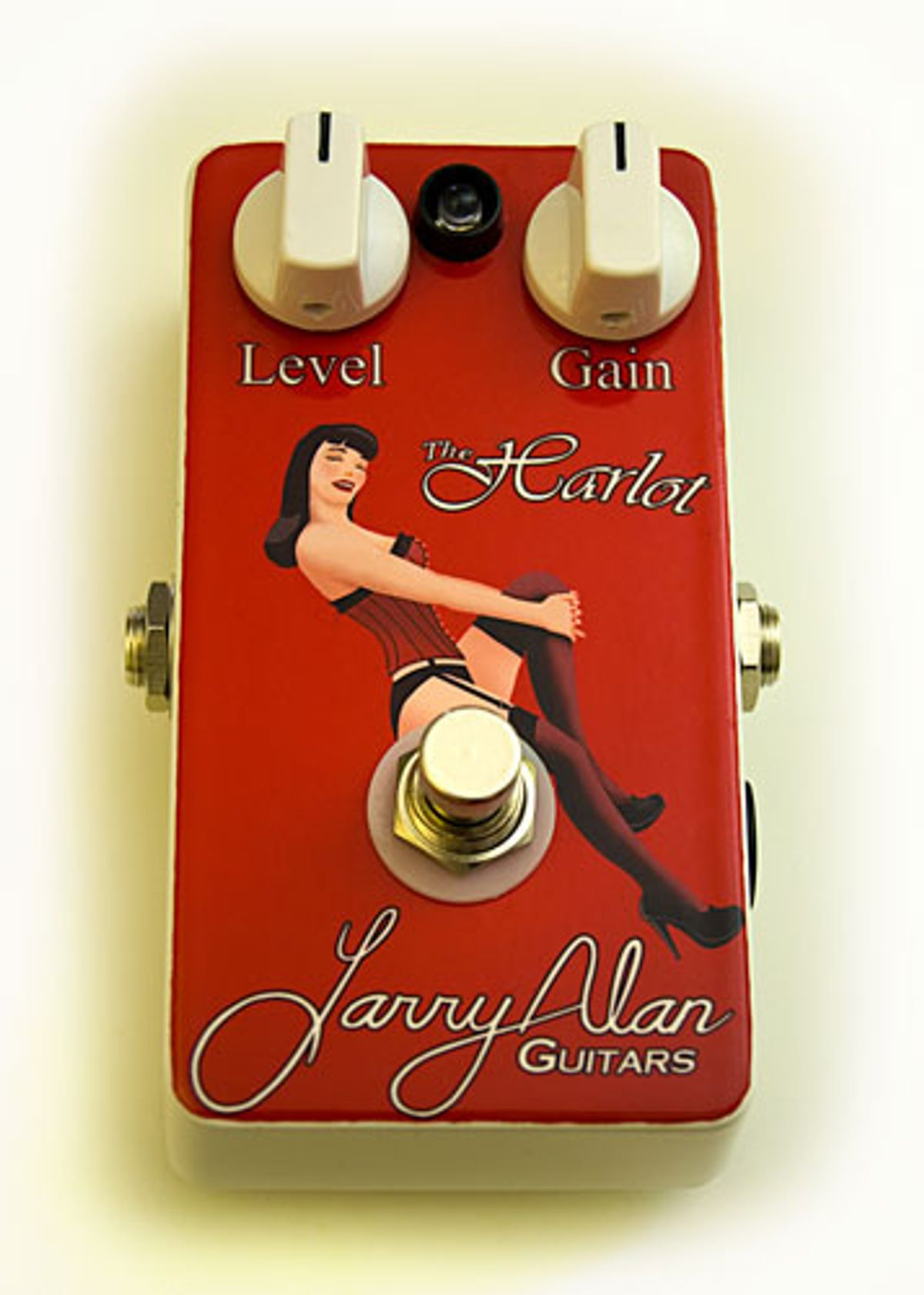 Larry Alan Guitars Announces the Harlot Overdrive Pedal