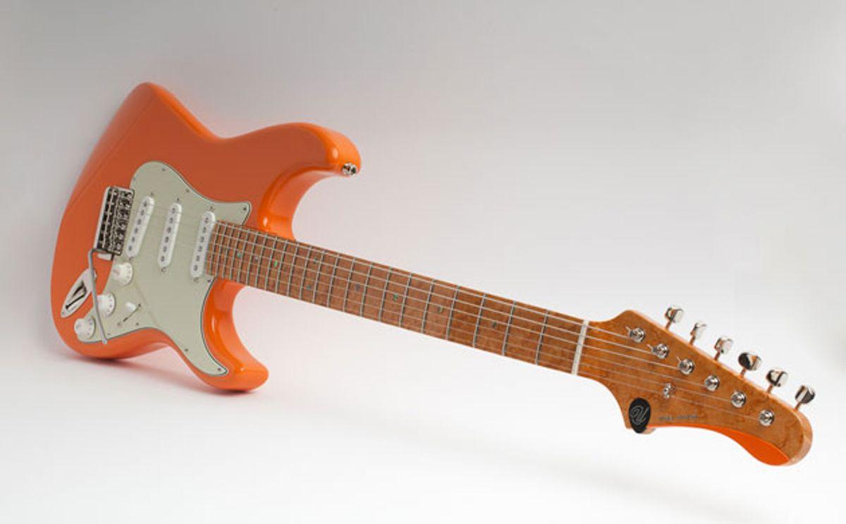 Ufnal Guitars Releases the Juicy Orange, Yellow Sixties, and Cream Machine