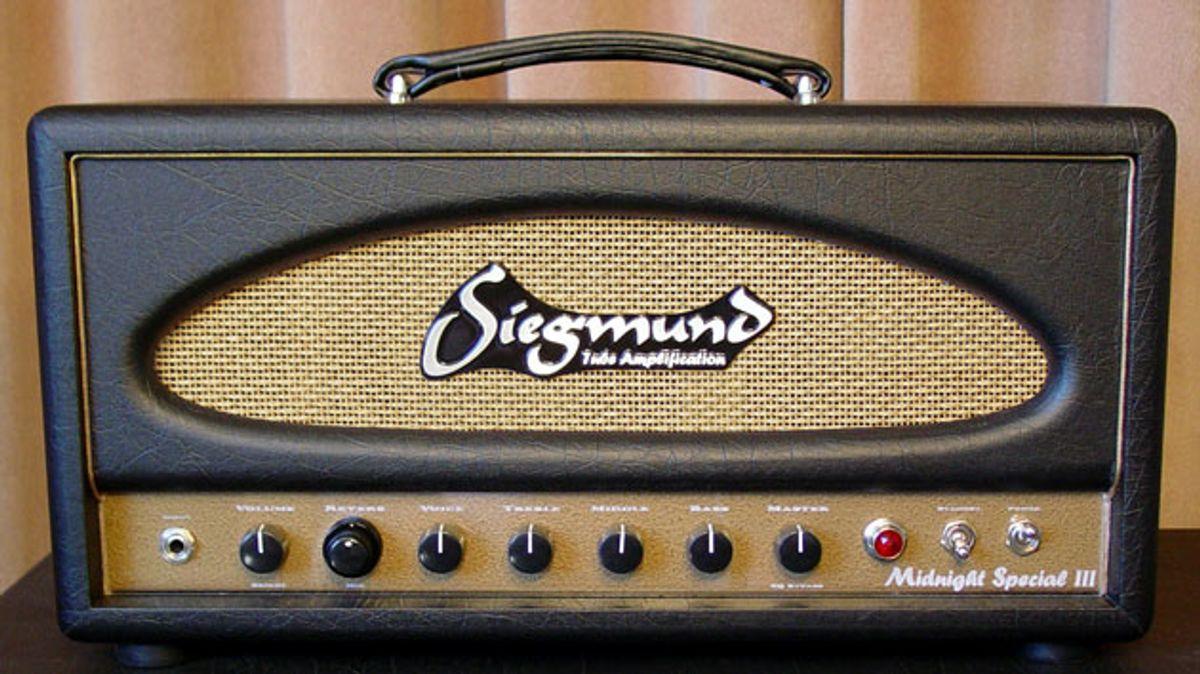 Siegmund Updates the Midnight Special Amplifier