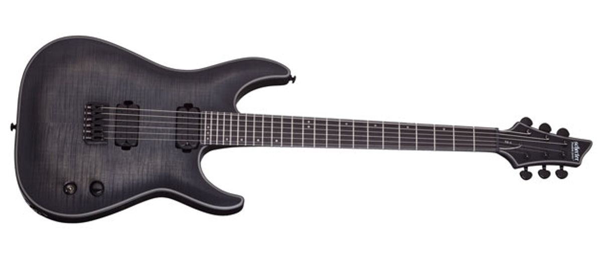 Schecter Guitar Research Announces Keith Merrow KM-6 Signature Model
