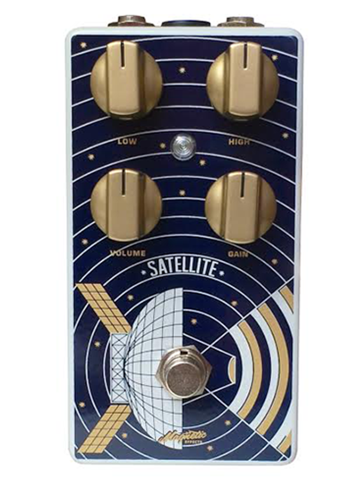 Magnetic Effects Releases the Satellite