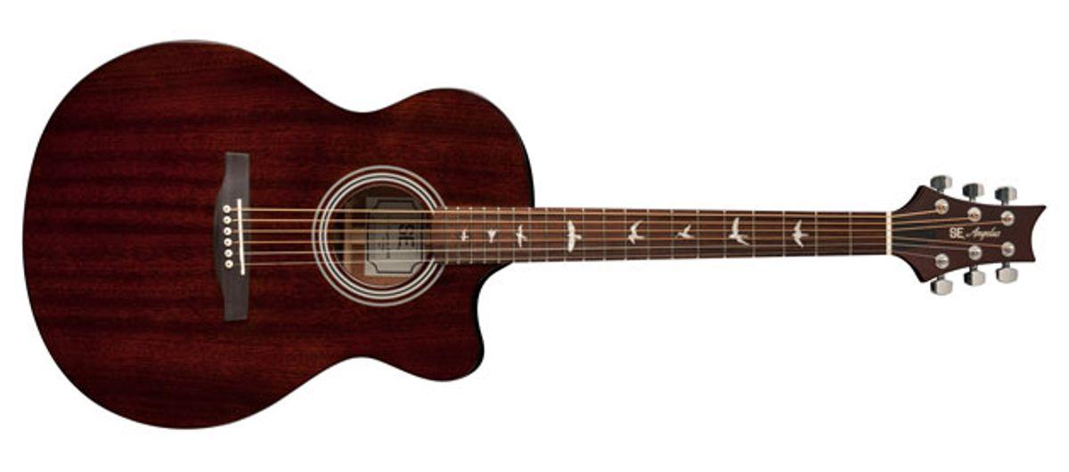 PRS Guitars Adds All-Mahogany Acoustics to SE Angelus Lineup