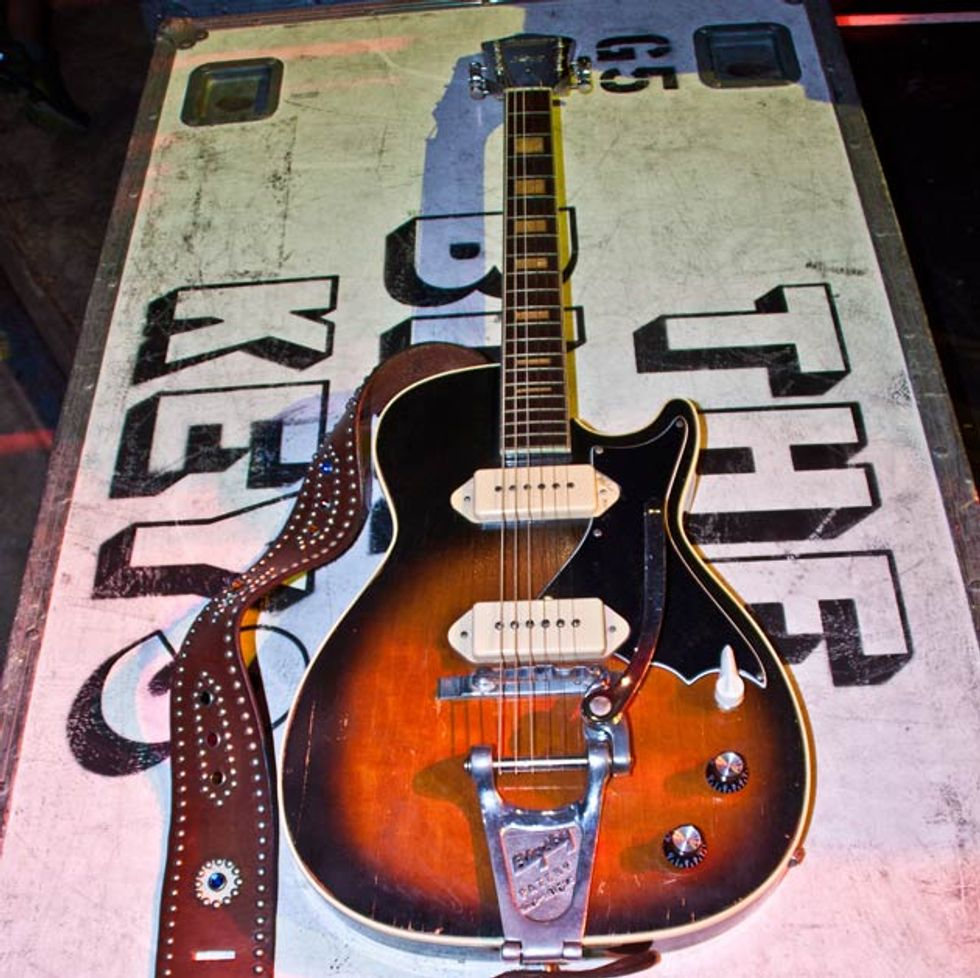 Auerbach 2019s 60s harmony stratotone has been a longtime member of his arsenal