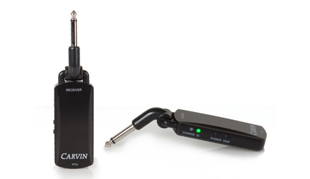 Carvin Audio Releases the WG5 Wireless System