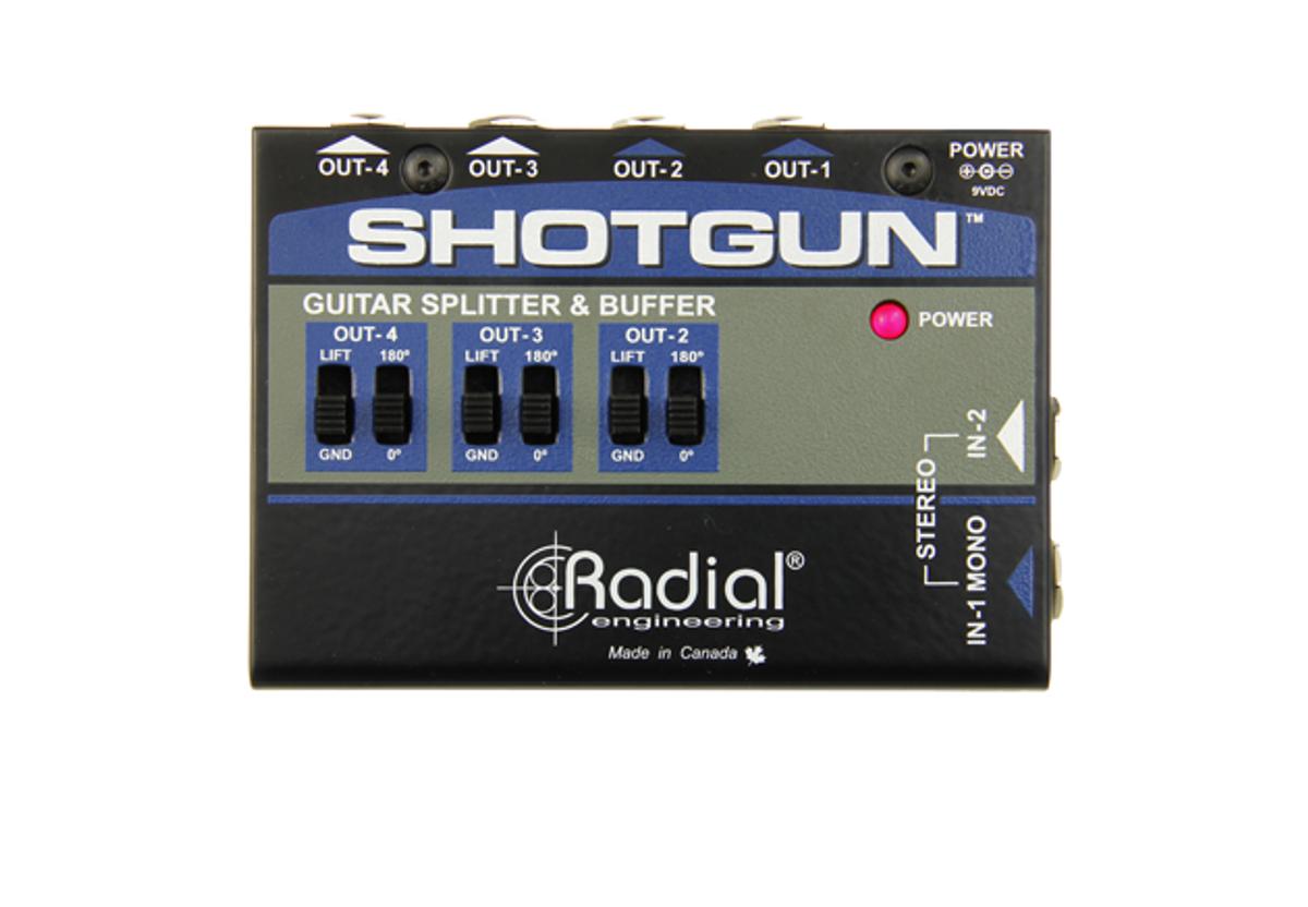 Radial Engineering Introduces the Shotgun