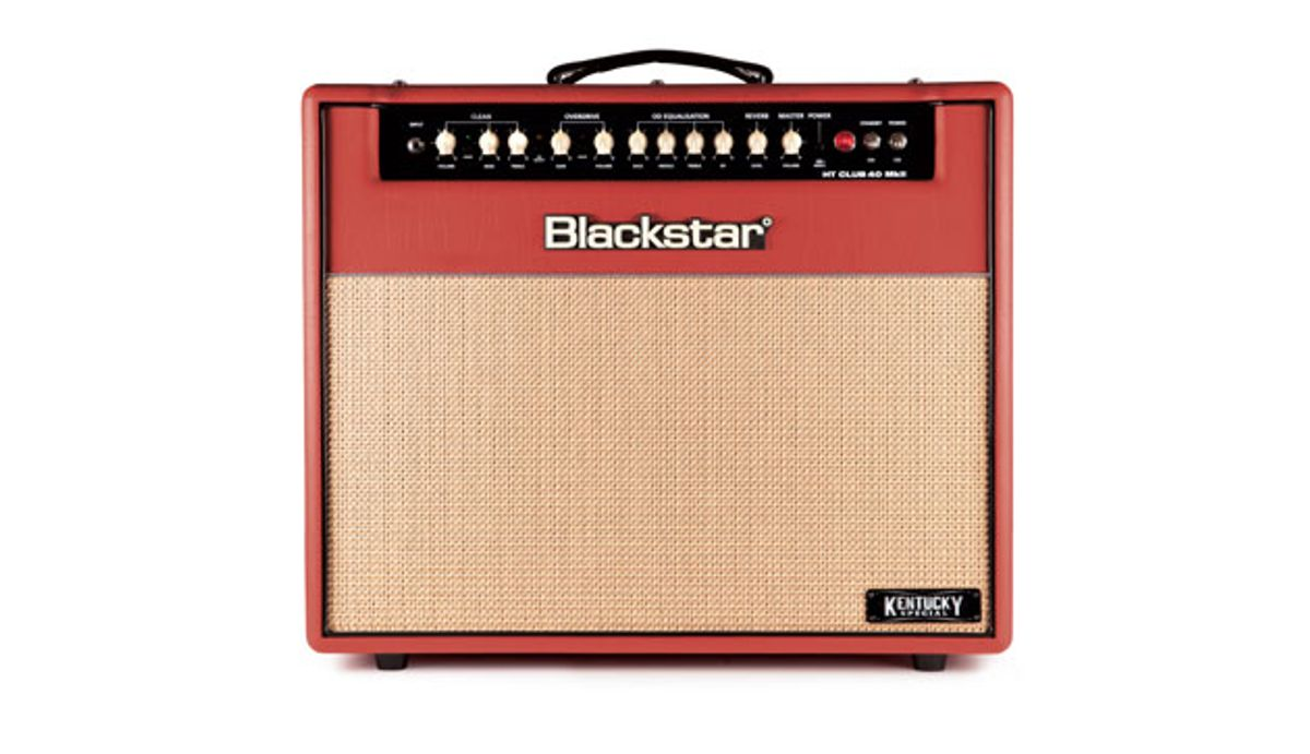 Blackstar Amplification Announces the HT Club 40 MkII Kentucky Special