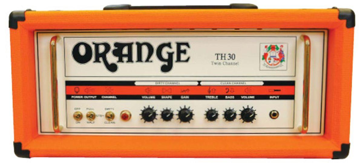 Orange TH30 Amp Head Review