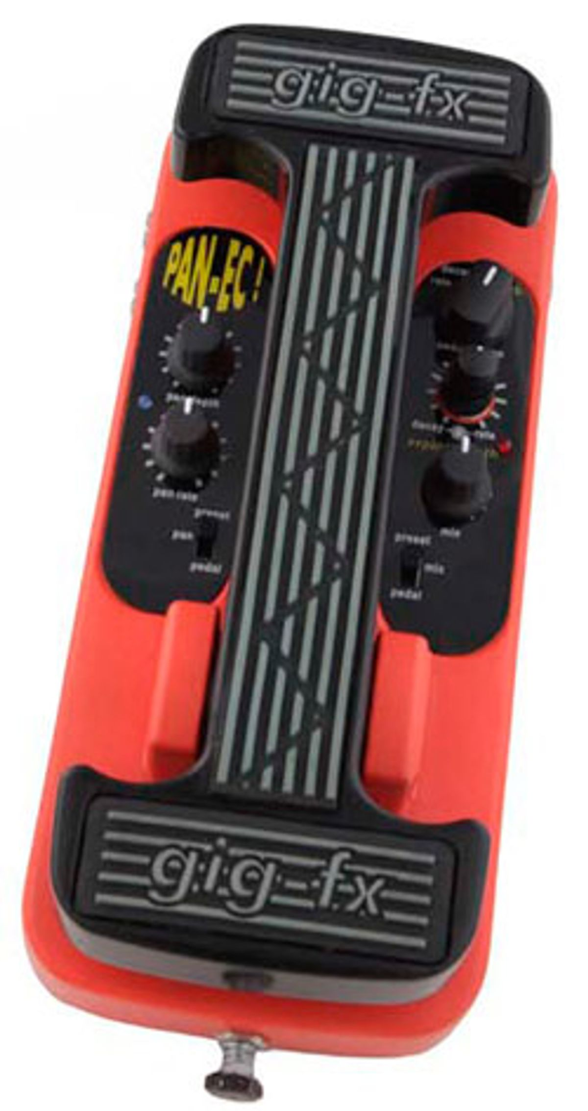 Gig-FX Launches the Pan-Ec Echo-Reverb Pedal
