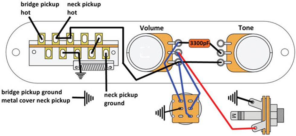 Mod Garage: The Super-Flexible, Super-Simple Telecaster Wiring | Premier  GuitarPremier Guitar
