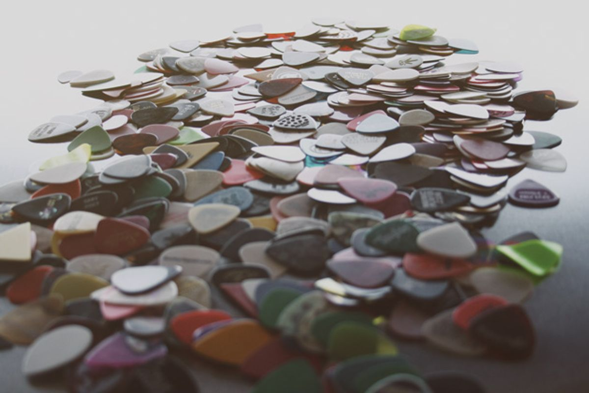 The (Surprisingly Long) History of the Guitar Pick