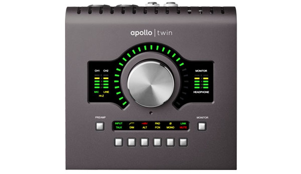 Universal Audio Introduces the Apollo Twin MkII
