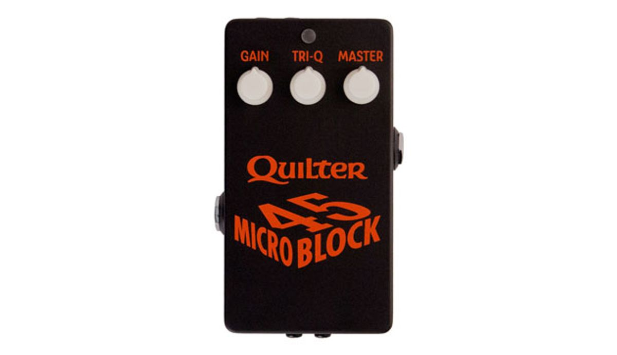 Quilter Launches the MicroBlock 45