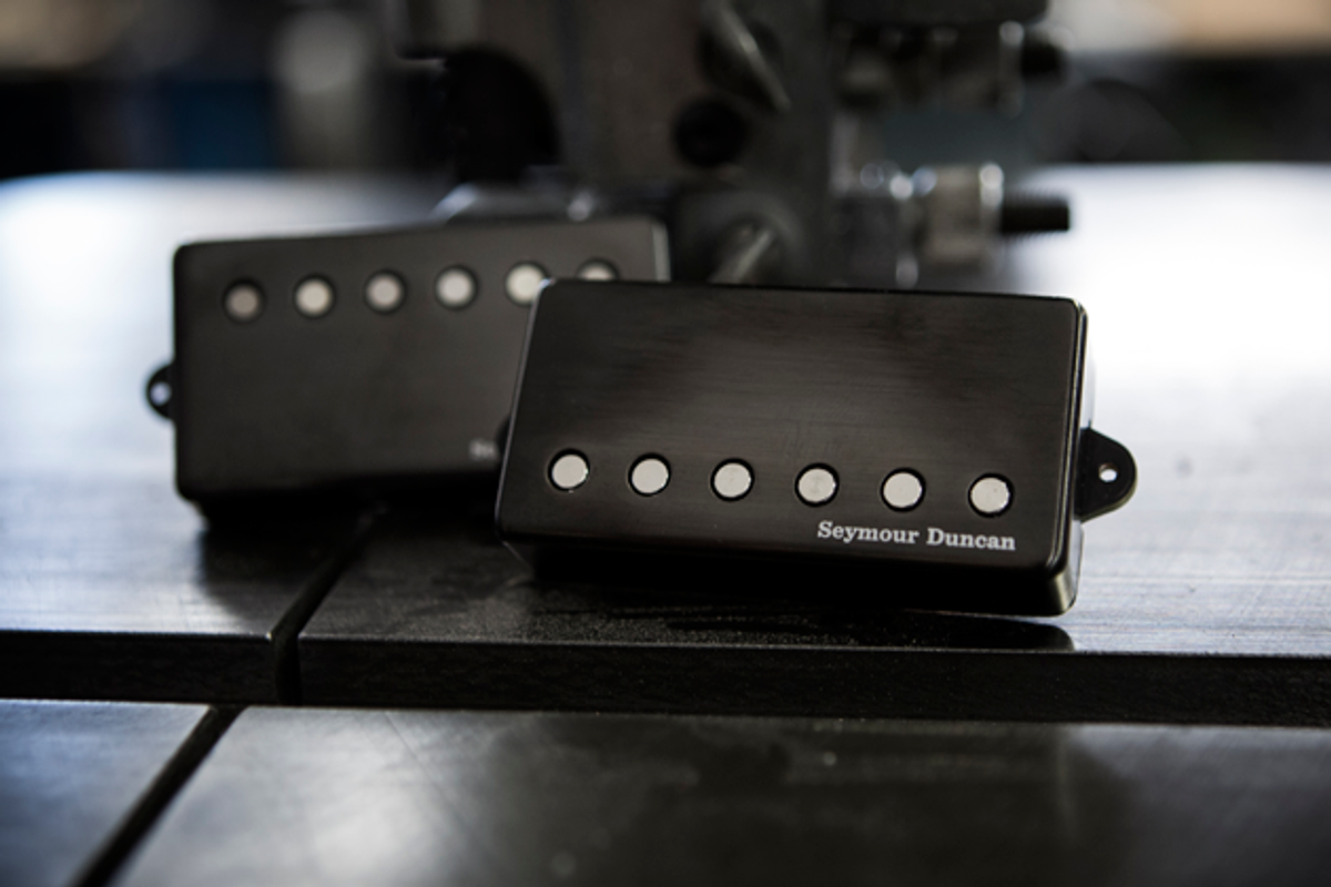 Seymour Duncan Introduces the Jeff Loomis Blackout Pickups