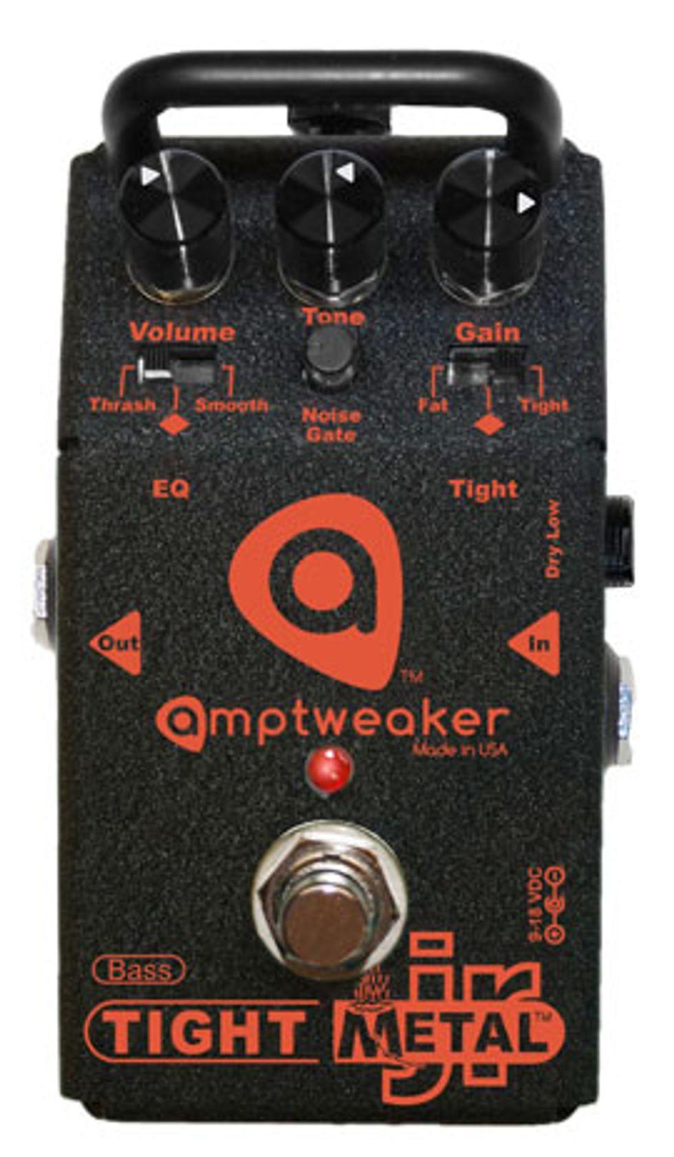 Quick Hit: Amptweaker Bass TightMetal Jr Review | Premier Guitar