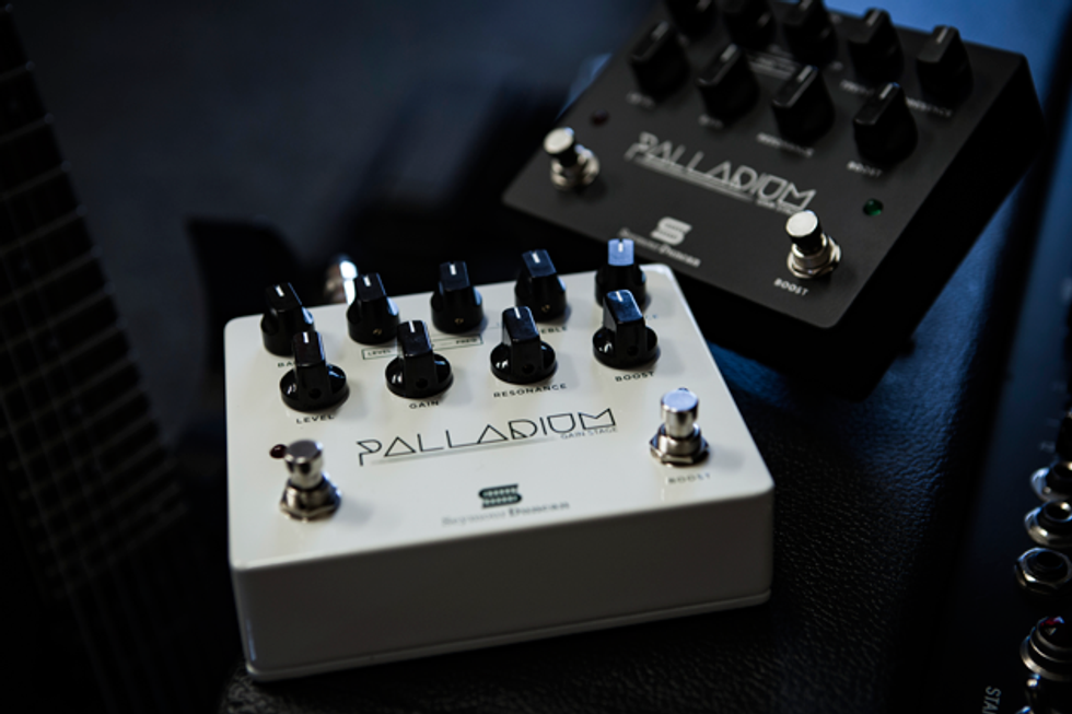 CA March 16 2016 Seymour Duncan A Leading Manufacturer Of Pickups And Pedals Announces The Release Palladium Gain Stage Effects Pedal